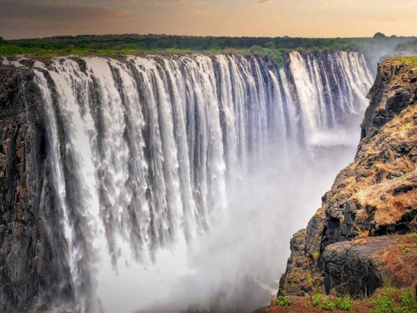 Victoria-Wasserfälle in Livingstone
